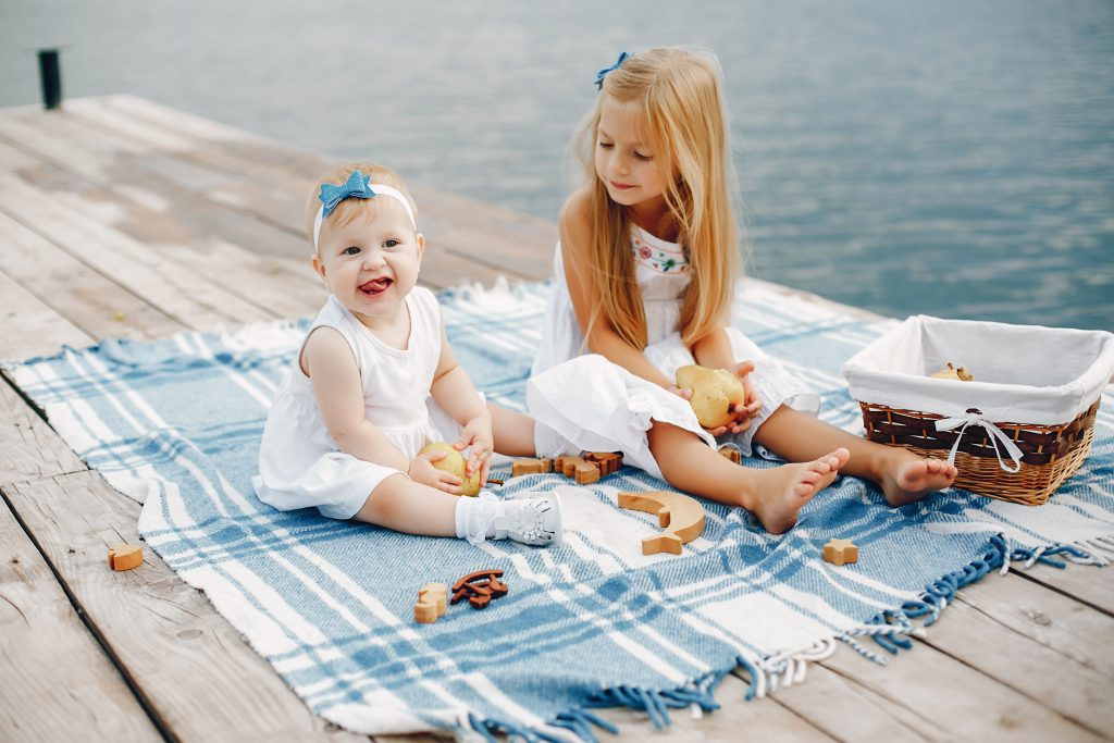 Wakacje nad jeziorem z dziećmi